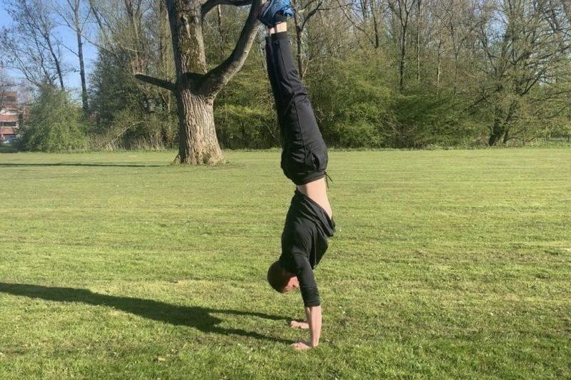 Handstand leren - CalisthenicsWorld.nl